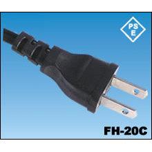 Japón extensiones con cable de alimentación PSE certificación