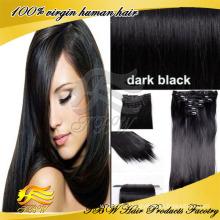 Prix de vente en gros d'usine de catégorie 6A 100% cheveux vierges indiens