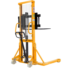 Xilin Hand Fork Lift 500kg 0.5t Capacity Hydraulic Manual Stacker for sale