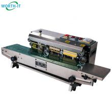 Simple operation horizontal sealing machine snap band sewing machine plastic bag sealer