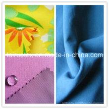 Pele de pêssego impressa impermeável com alta qualidade para tecido de vestuário