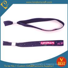 2015 Fashion Custom Woven Wristband