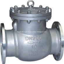 Válvula de retenção de aço inoxidável