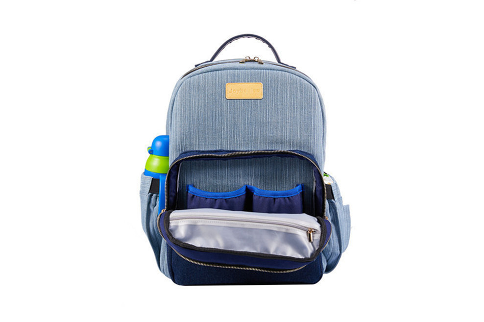 Diaper Backpack In Denim