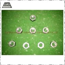 Pure Tungsten Nuts /Tungsten Nail/Tungsten Parts/Tungsten Bolts/Molybdenum Parts
