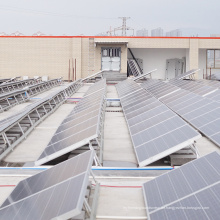 Industrielles Off-Grid-Flachdach-Solar-PV-Montage 100KW