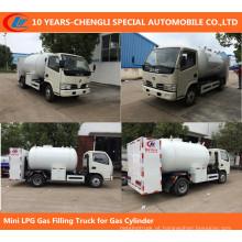 Mini Caminhão De Enchimento De Gás LPG para Cilindro De Gás