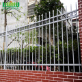 Serbuk Coated Iron Wrought Iron Pagar Keluli Rendah
