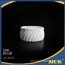 bulk buy from china porcelain dinnerware small sugar pot