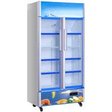 Réfrigérateur commercial d'affichage de porte en verre