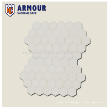 6mm UHMWPE composite Bulletproof ceramic Curved plate