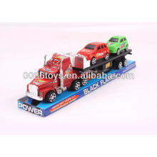 35CM com 2 carros menores impressos Caminhões de fricção do caminhão de reboque do trator