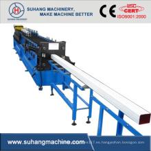 Máquina formadora de rollos de bajante cuadrada de aluminio Hotsale