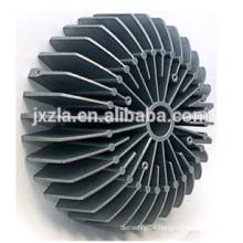 100w round aluminium heat housing extrusion led bulb heat sink