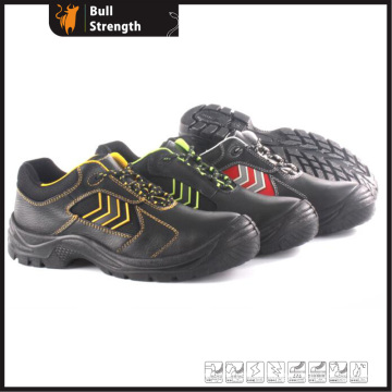 Genuine Leather Industrial Safety Shoe with Steel Toe&Midsole (SN5378)