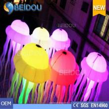 Eventos Fiesta de Boda Decoración de Navidad RC Encendida Medusa inflable