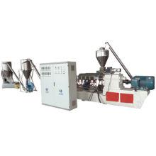 Máquina de granulação de pó de madeira + PVC