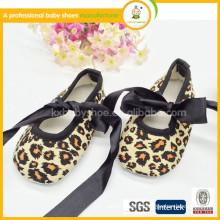 2015 new product hot sale cotton fabric dance shoes baby dance ballet shoes
