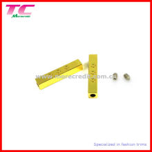 Drawstring Metal Aglet with Screw