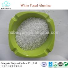 0-1,1-3,3-5,5-8mm 99.3%min white fused alumina grit
