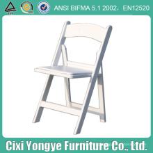 Cadeira dobrável de resina comercial para eventos
