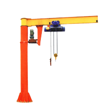 10T industrial price of mobile jib crane
