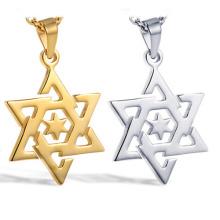 Новейший дизайн Star Of David форме 316l нержавеющей стали ювелирные изделия Кулон