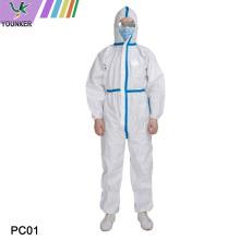 Einweg-Schutzkleidung für medizinische Personen
