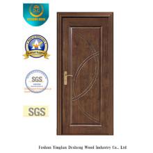 Diseño chino Puerta de MDF para interiores con color marrón (xcl-011)