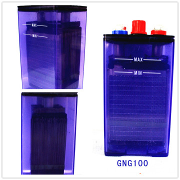 12V Nickel Cadmium Batterie 100Ah Nicad Batterie