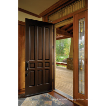 Traditional Style Solid Wood Enterior Door