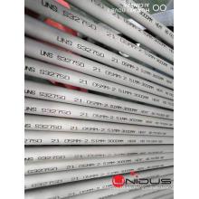 Tubo de acero inoxidable dúplex S32750