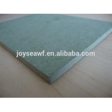 Tablero impermeable del MDF de la alta calidad 4 * 8ft,, MDF verde