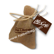 Пользовательский Drawstring джутовый мешок, Burlap сумка для покупок, сумка для конопли (JDB-2)