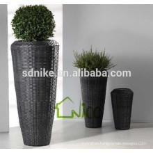 Practical Outdoor Rattan Vase Set