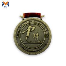 Лучшая цена металлического бронзового цвета медальона