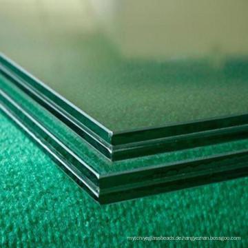 Dekoratives, klares und getöntes, gehärtetes Laminatglas für den Haushalt