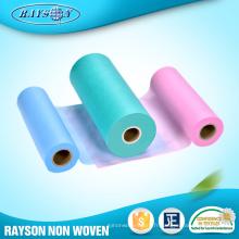L'importation de produit des matières premières non tissées par polypropylène de la Chine 100% pour des serviettes hygiéniques