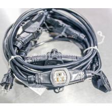 Cables de extensión UL con toma 3/4/5 SJTW 14/3 SJTW 16/3 CON CUBIERTAS