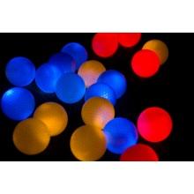 Colorful Flashing Night Glowing LED Golf Ball