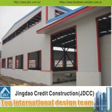 Bâtiment préfabriqué structurel en acier à faible coût et de haute qualité Jdcc1021