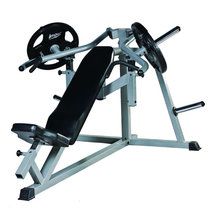Пластина загружена фитнес-вес подъемной техники наклонного жима XR710