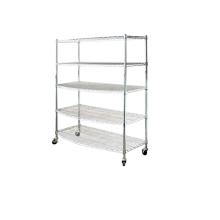 display chrome wire shelf