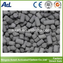 Carbón activado para separación de solventes orgánicos