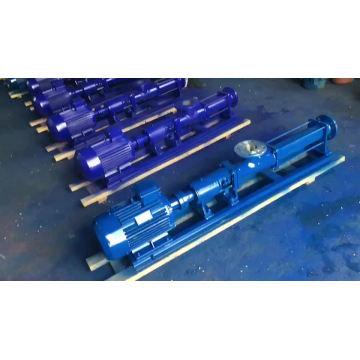 Pompe à vis unique G pour pompe à lisier à haute viscosité