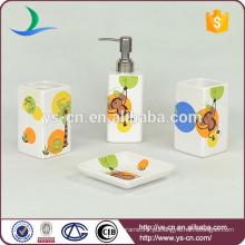 Monkey Animal Design Ceramic bonito banheiro acessórios para crianças