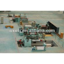 linha de produção de máquina de corte aço