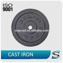 Placas de barra con pesas de hierro fundido 10 lb