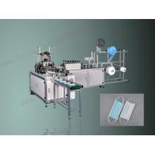 Machine de fabrication de masque facial Automatic1 + 1 avec ligne d'emballage