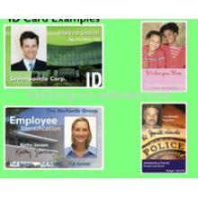 Personalice la tarjeta de la foto de la identificación para el empleado / los estudiantes / los visitantes